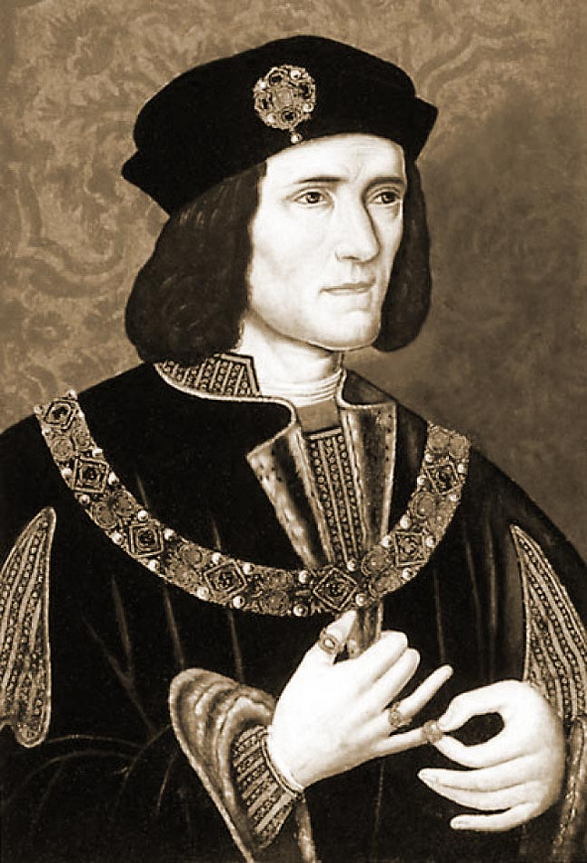 king richard III - there was a liitle guinea pig rhyme