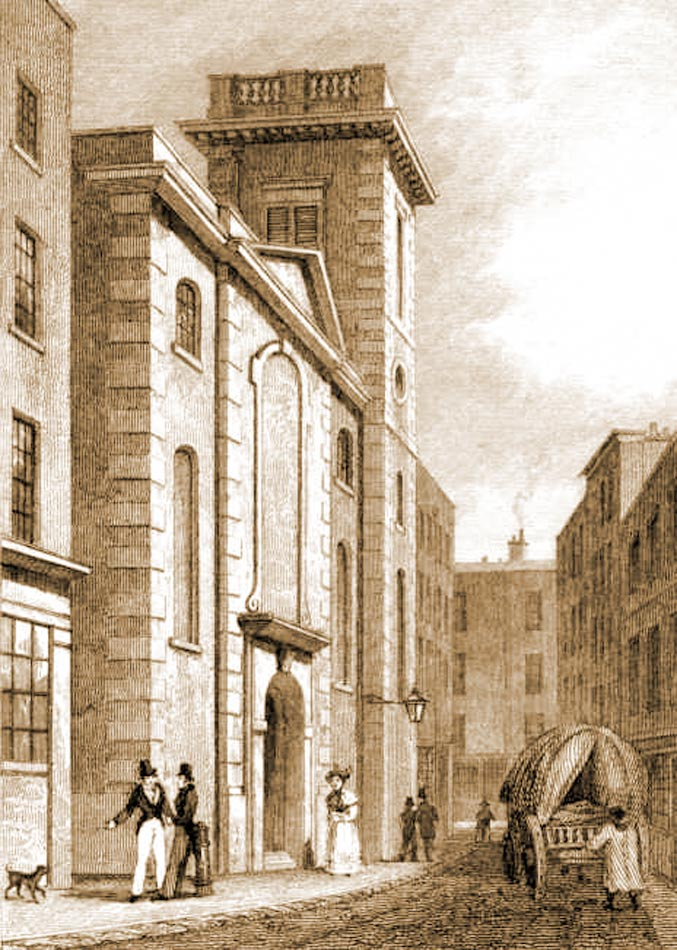 St Clement's Church, Eastcheap London